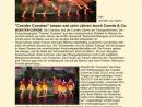 Seite 051 Coerder Cometen 1 - Artikel Leuchtende Sterne am Tanzhimmel-p1